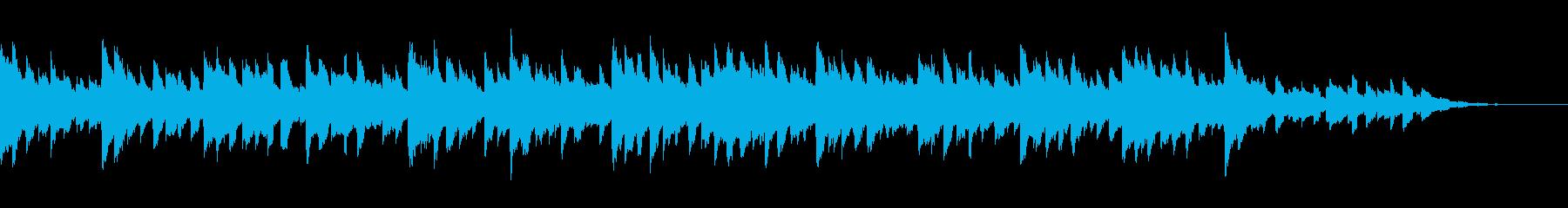 美術館を散歩するようなピアノ エレピの再生済みの波形