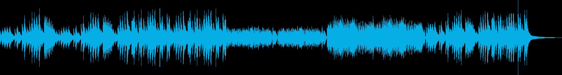 ベートーヴェンのメヌエット ト長調の再生済みの波形