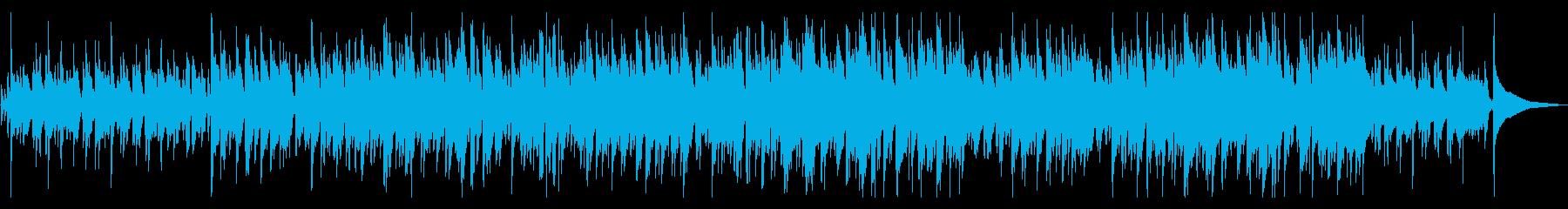 おしゃれなカフェサウンドの再生済みの波形