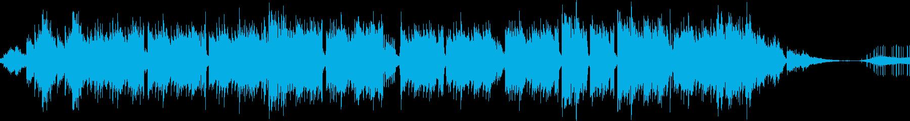 独特なリズムで奇妙なメロディーの再生済みの波形