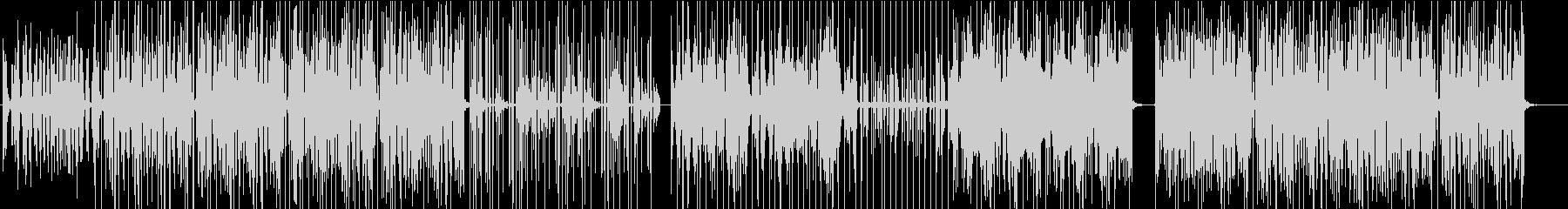 切なくもポップな旋律のエレクトロニカの未再生の波形