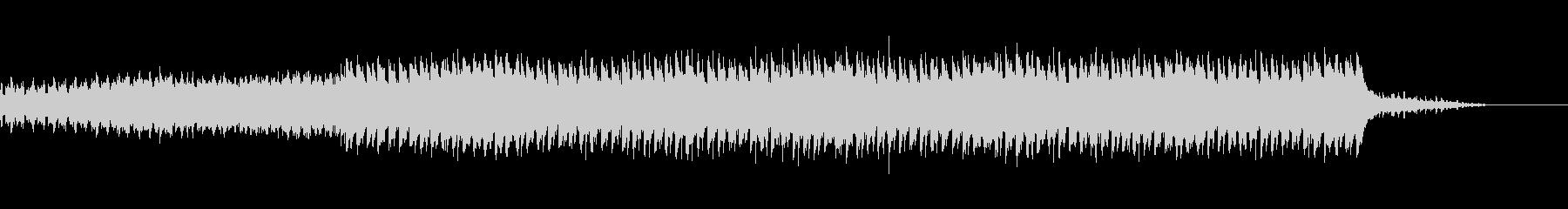 再現シーン:感極まるプチトランス 60秒の未再生の波形