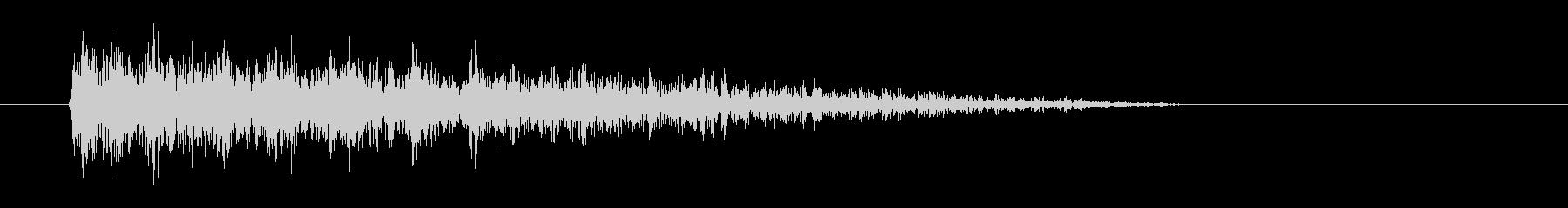 レーザー音-39-3の未再生の波形