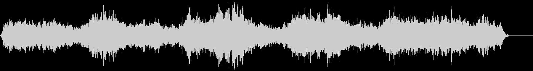 ゾンビ(グループ)うめき声4の未再生の波形