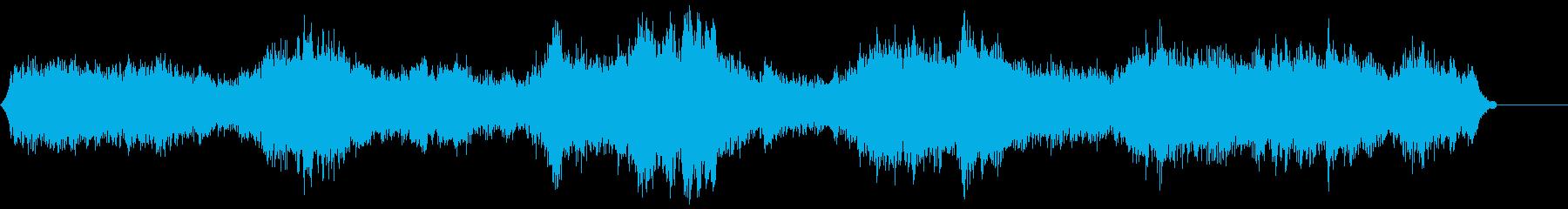 ゾンビ(グループ)うめき声4の再生済みの波形