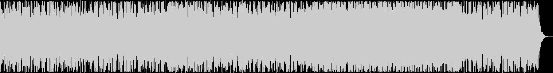 ゆったりとしたシンセピアノサウンドの未再生の波形