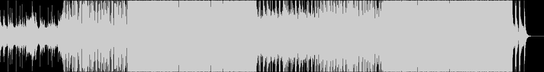琴がメインのブレイクビーツの未再生の波形