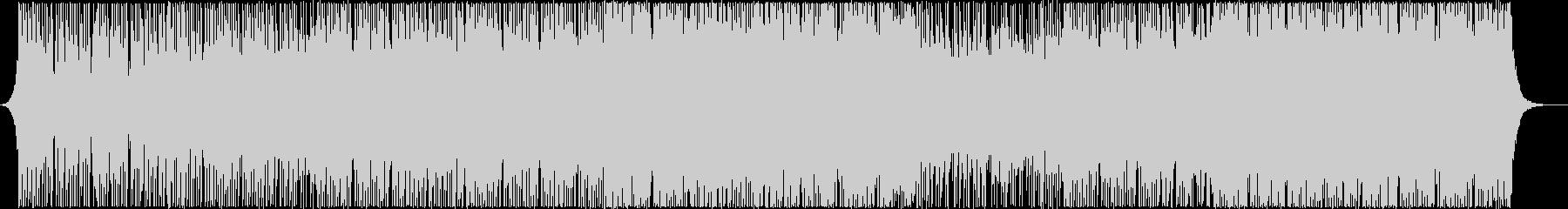 アップリフティングハウスの未再生の波形