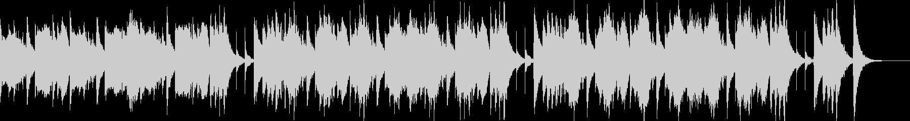脱力感あるゆるい日常BGMの未再生の波形