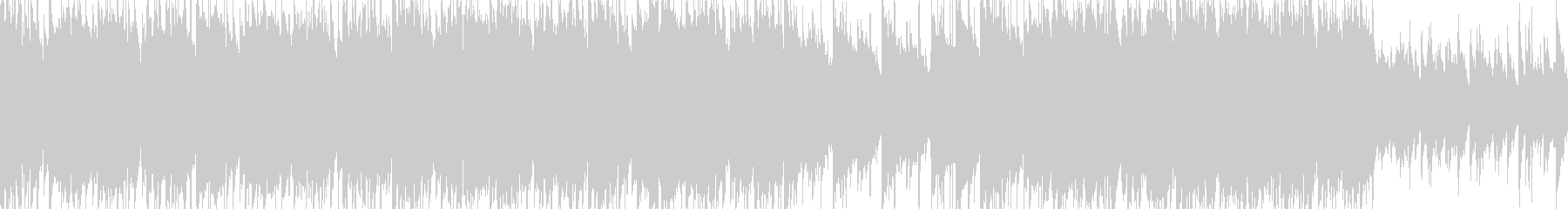 キャッチーピアノ、バイオリンメロの未再生の波形