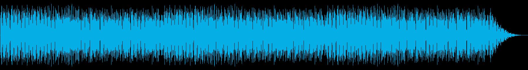 GB風レースゲームのステージ曲の再生済みの波形