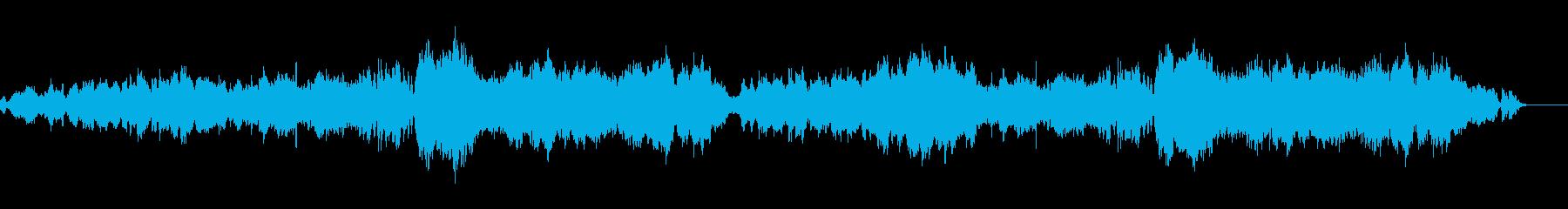 ハッピーな曲 の再生済みの波形