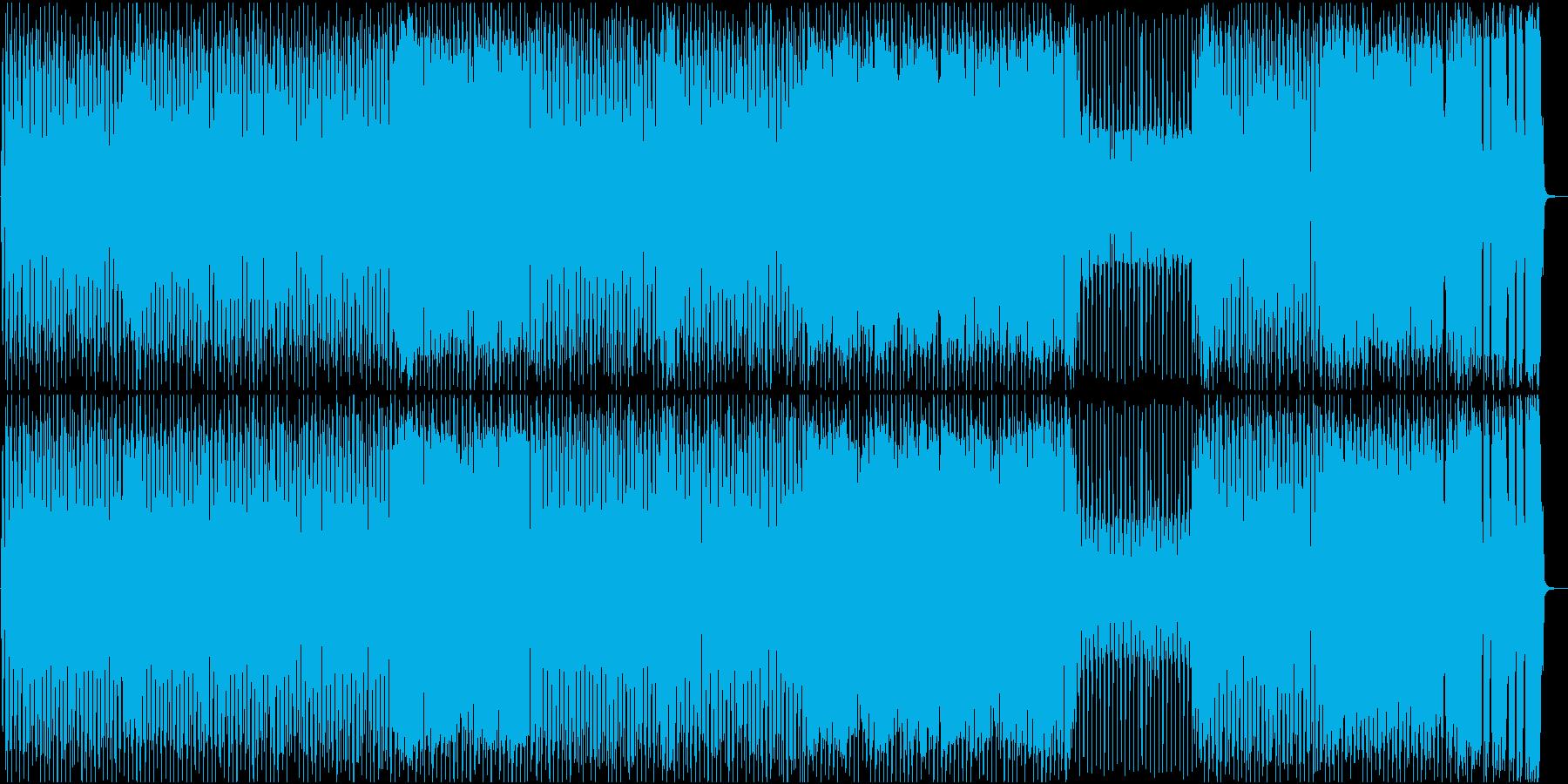 ブギー調のロックンロールナンバー♪OP曲の再生済みの波形