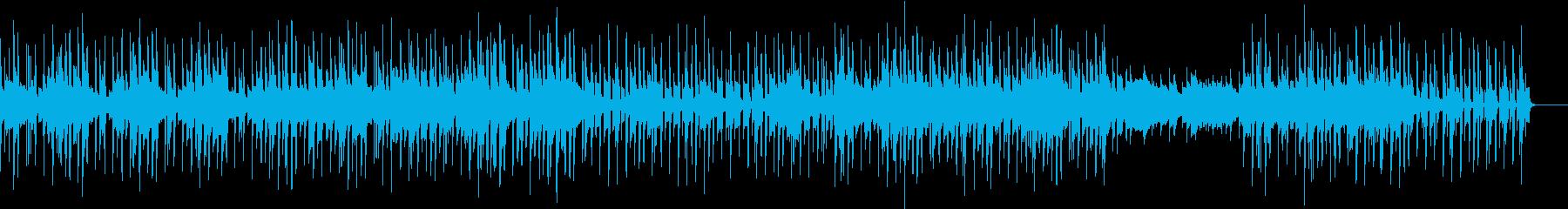 ほのぼのとした雰囲気 トリップ チルの再生済みの波形