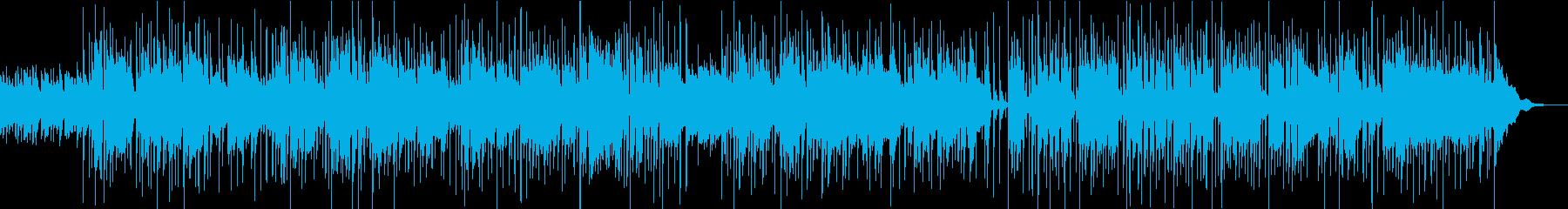 英詞、70sUK風12弦アコギの緩サイケの再生済みの波形