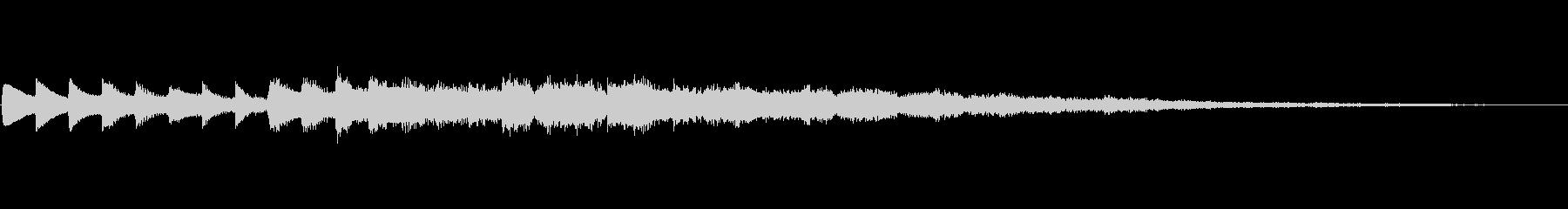ピカーン 宇宙的 タイトル テロップ 光の未再生の波形