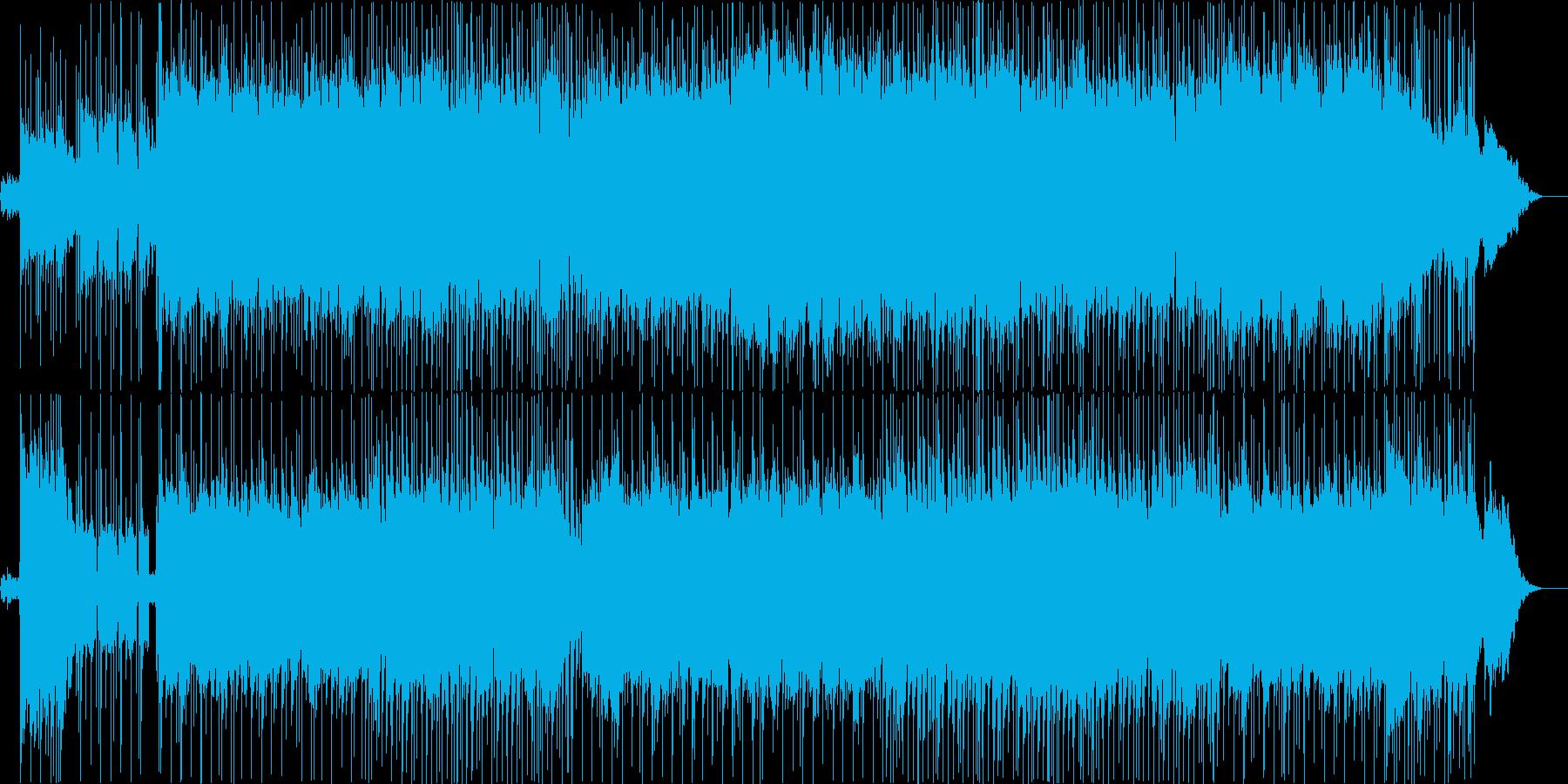 悲しみに沈んだバラードの再生済みの波形