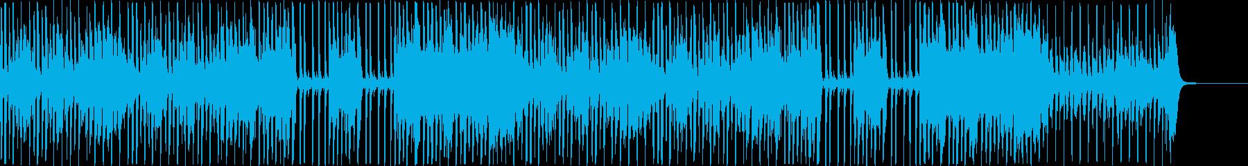 【リズムなし】楽しく元気口笛BGMの再生済みの波形