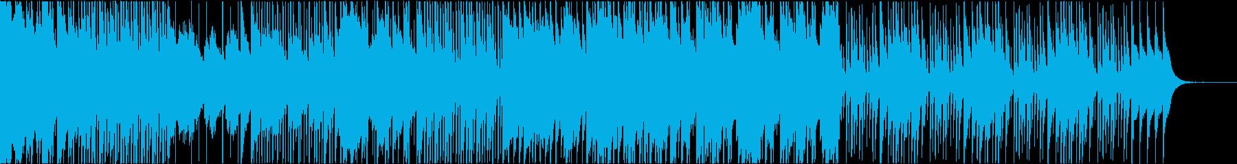 インド風の曲の再生済みの波形