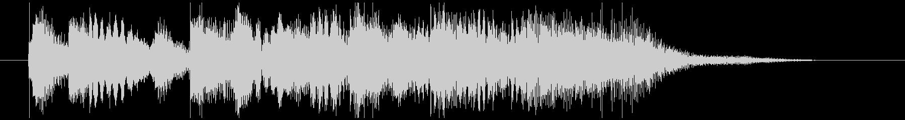 短調バロック風ジングル(オーケストラ)の未再生の波形