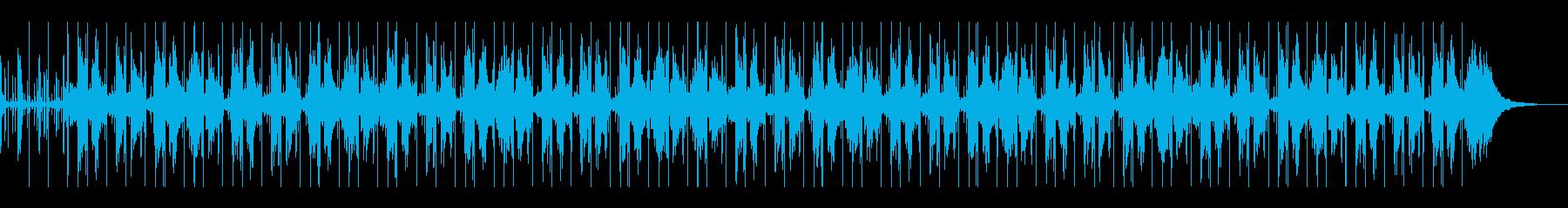 自然を感じるインストピアノヒップホップの再生済みの波形