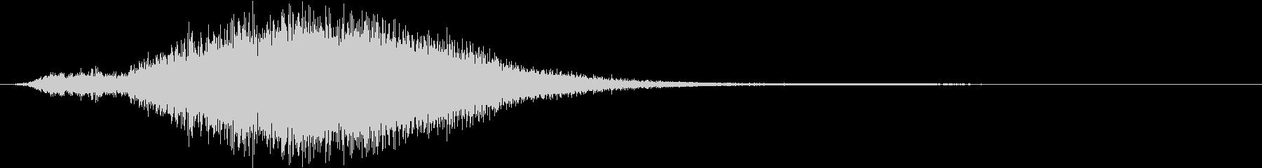 【ホラー・ダーク】崩れ落ちるの未再生の波形