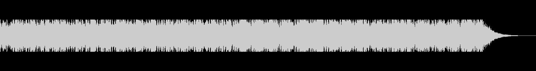 フレッシュなシーンを連想するピアノメロの未再生の波形