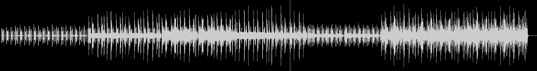 木琴の音がメインでゆったりした曲の未再生の波形
