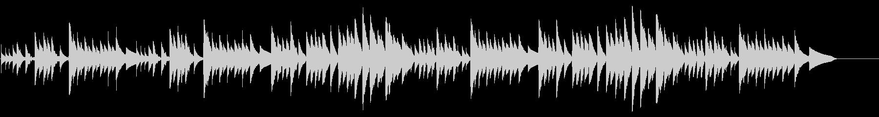 キラキラ星変奏曲(Var Ⅷ)オルゴールの未再生の波形