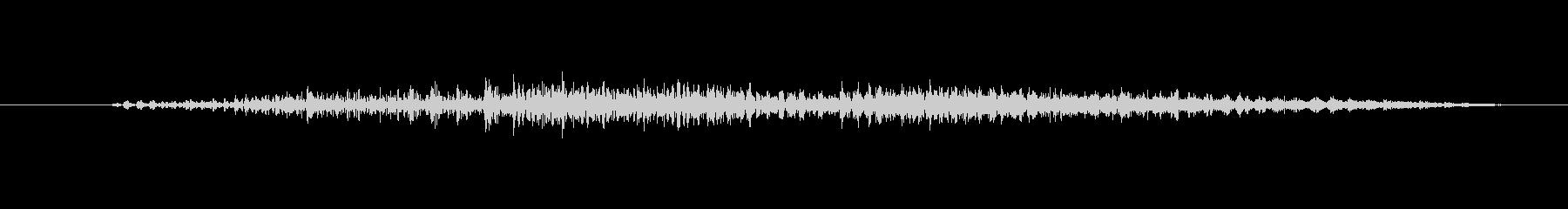 ゾンビ うめき声アイドル03の未再生の波形