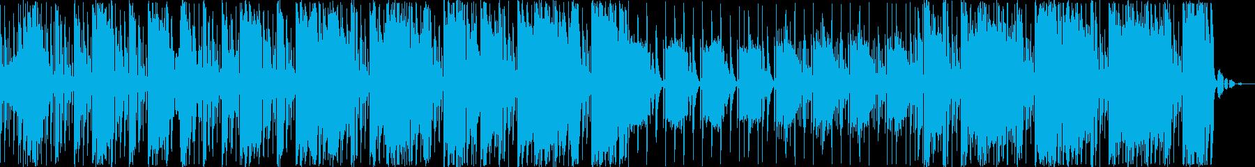 ヒップホップダブステップグルーヴ。...の再生済みの波形