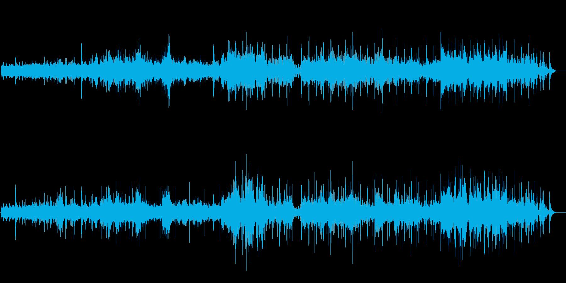 渓流(ダウンアップ・リヴァー)の再生済みの波形
