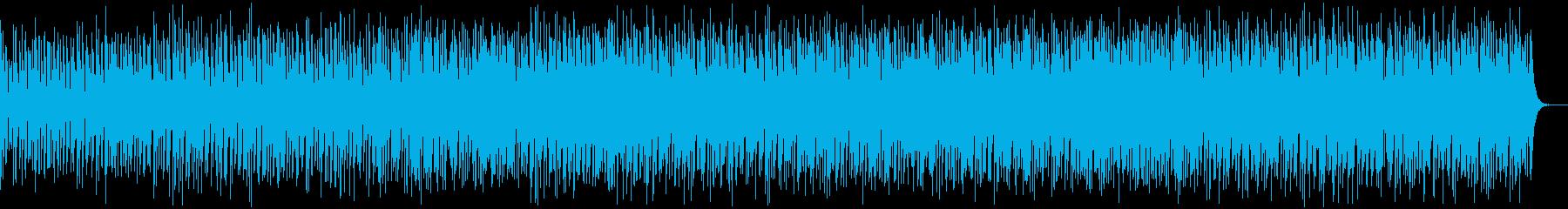 ボサノバ風ほのぼのポップなカノンの再生済みの波形