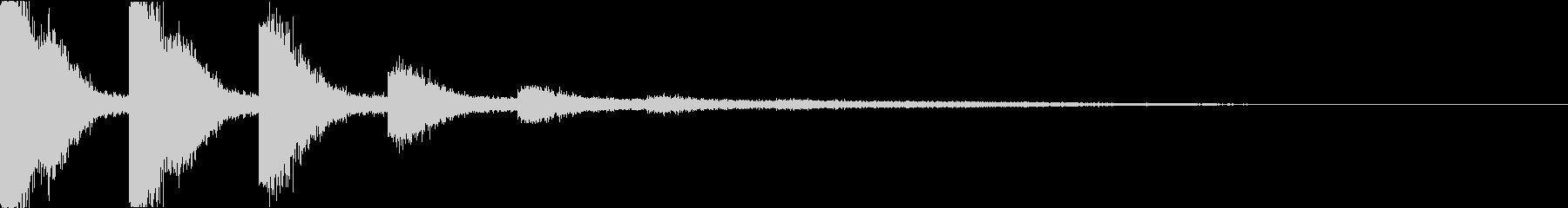 スネア:衝撃音・迫力・インパクトの未再生の波形