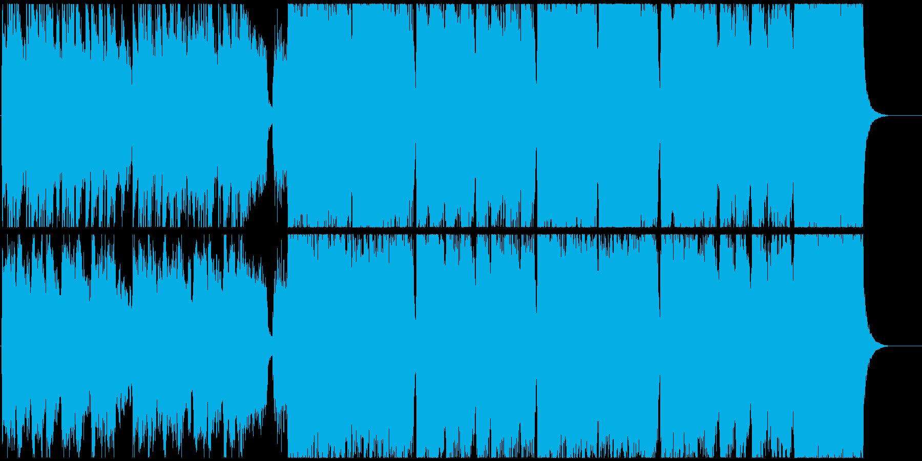 優しくほのぼのしたBGMの再生済みの波形
