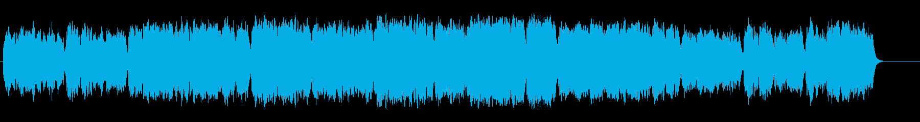 しっとりとした優しいバラード/BGの再生済みの波形