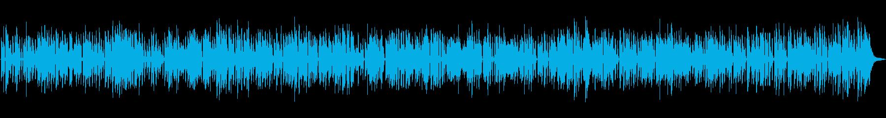 レトロでほのぼのした古臭いオールドジャズの再生済みの波形