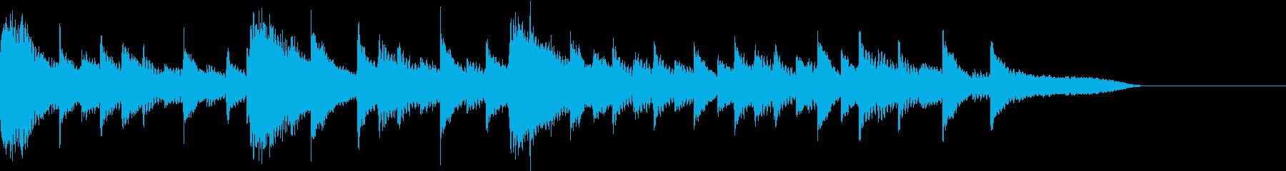 海・透明感・夏の涼しげピアノジングル3の再生済みの波形
