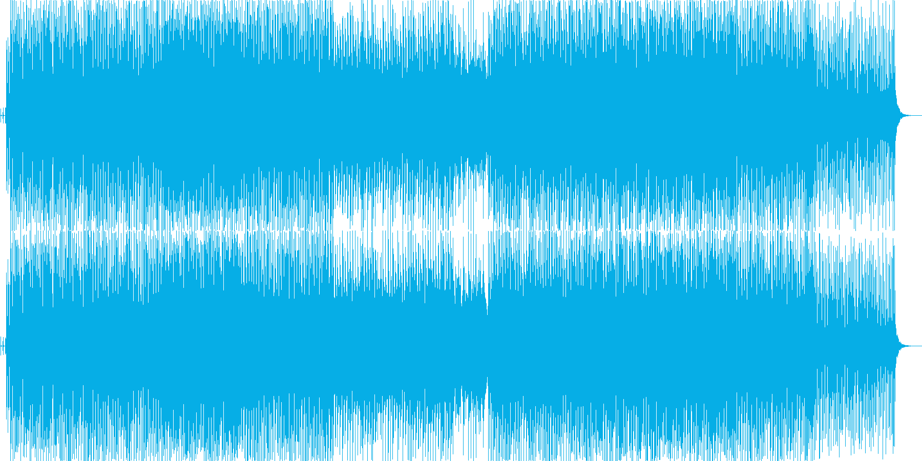 RAIJINの再生済みの波形