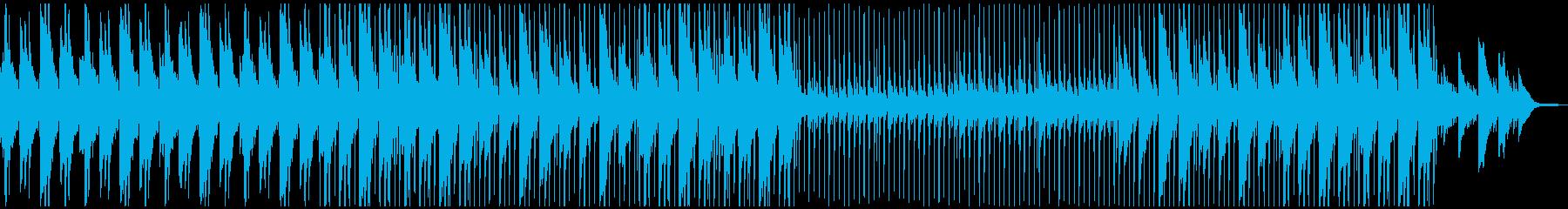 チルアウト〜穏やかで癒しのピアノとアコギの再生済みの波形