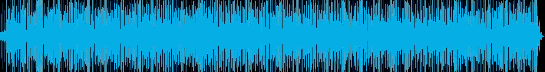 生演奏 軽快なラテンファンク Ver.2の再生済みの波形