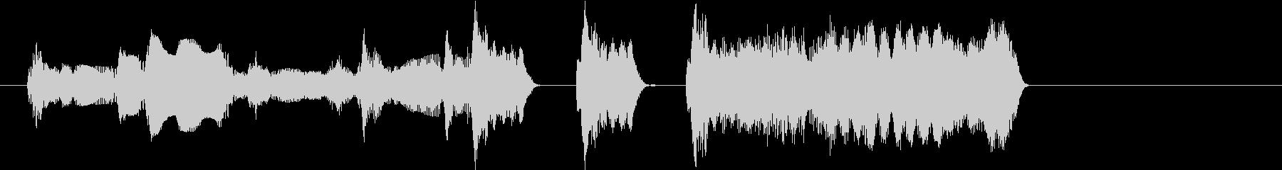 ゲームオーバー 不正解 コミカルの未再生の波形