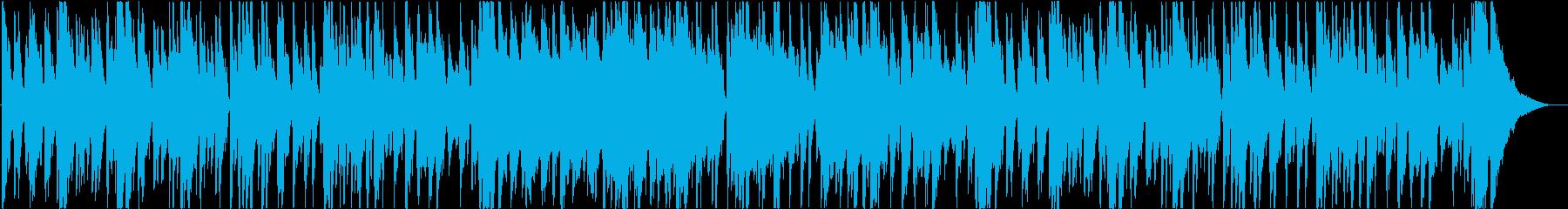 ライト、ジャズ、スムース、ボッサの再生済みの波形