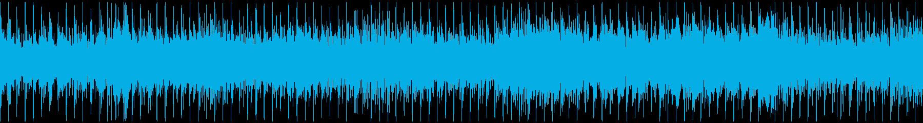 ループ可・かっこいいタムとサックスの再生済みの波形