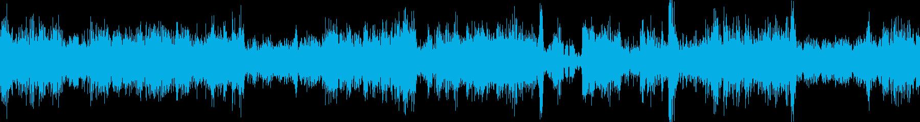 ループ再生可能!ラジオノイズ・SPLの再生済みの波形