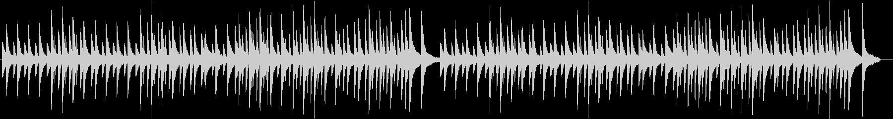 E.サティ ジムノペディ 第1番の未再生の波形