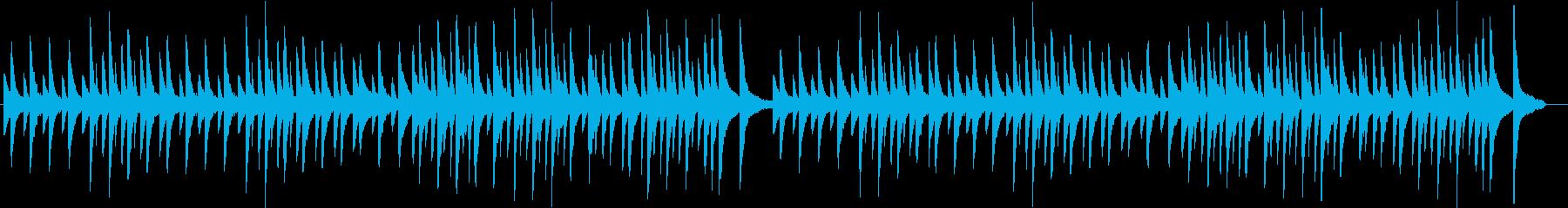 E.サティ ジムノペディ 第1番の再生済みの波形