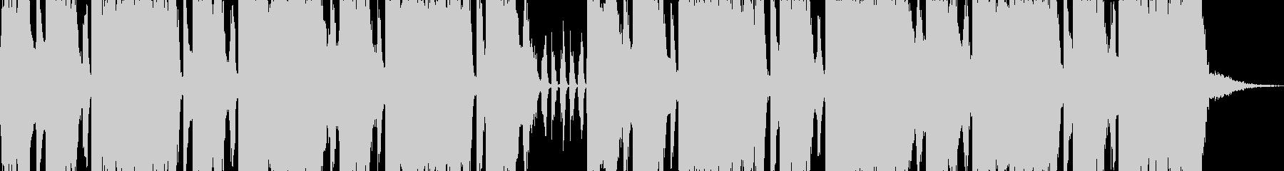 ロックエレキが気持ち良い30秒ジングルの未再生の波形