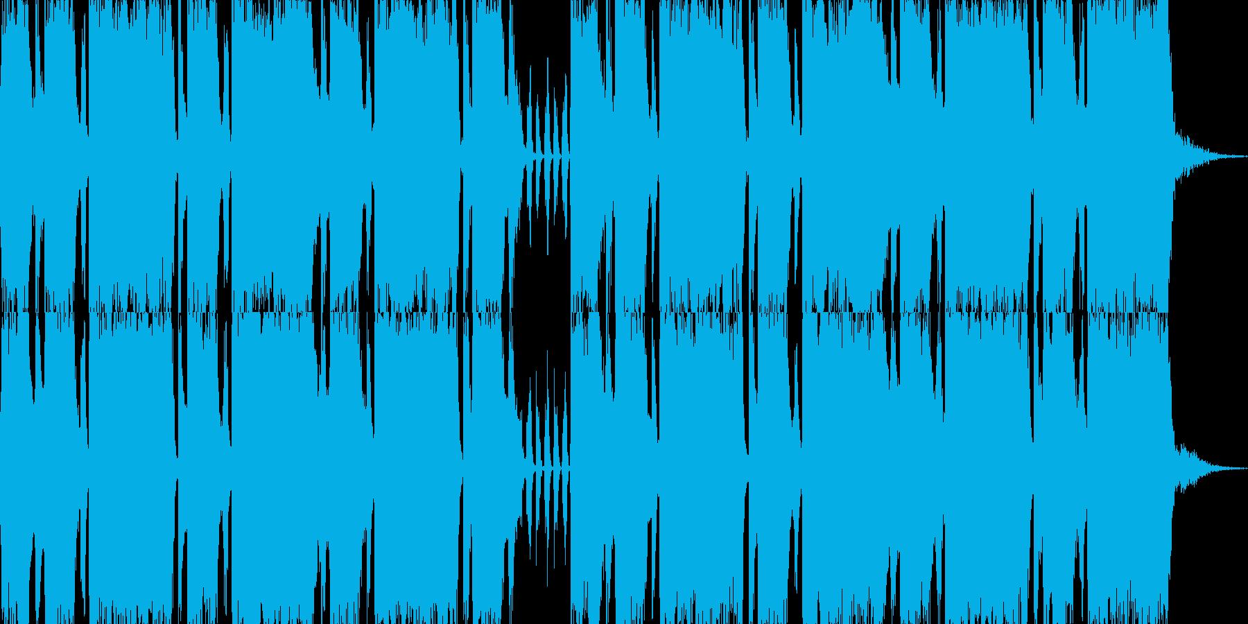 ロックエレキが気持ち良い30秒ジングルの再生済みの波形