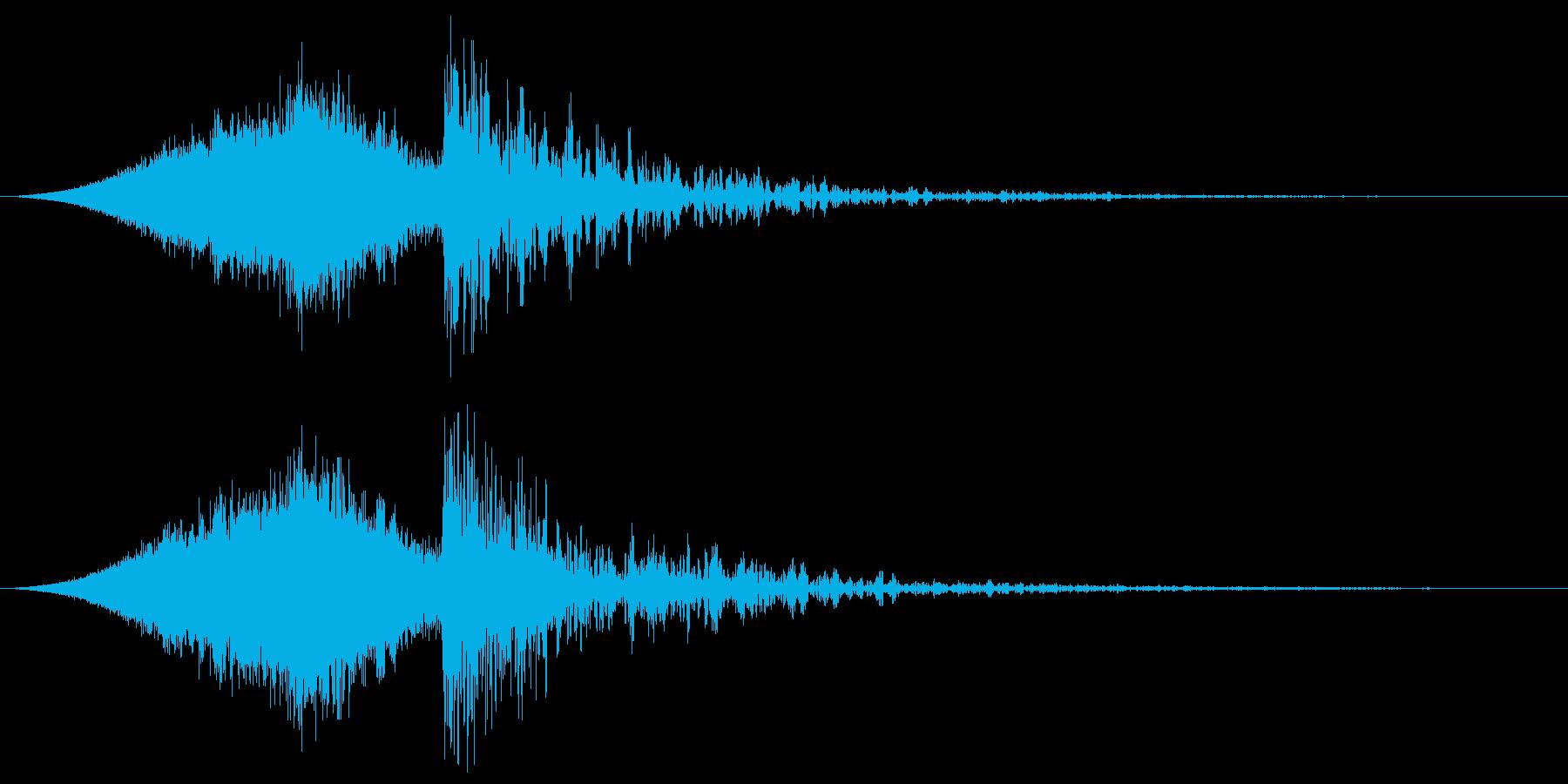 ソニックヒットによる宇宙旋回の再生済みの波形